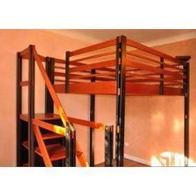 Diginpix entit espace loggia - Lit mezzanine 2 places avec escalier ...